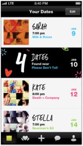 Crazy Blind Date app