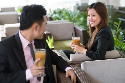 Married men flirting at work